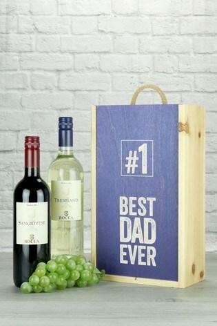 Best Dad Ever Italian Twin Wine Gift by Le Bon Vin