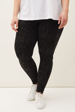 Studio 8 Black Lizzie Textured Leggings