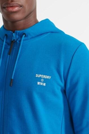 Superdry Sport Training Zip Hoodie