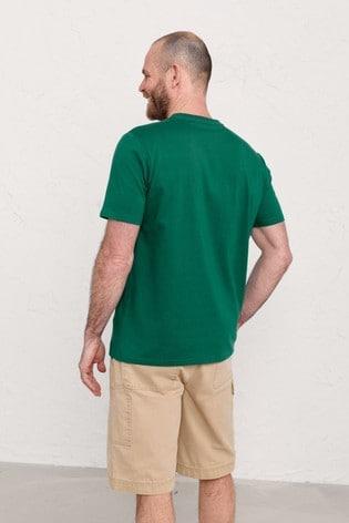 Seasalt Cornwall Men's Green Midwatch T-Shirt