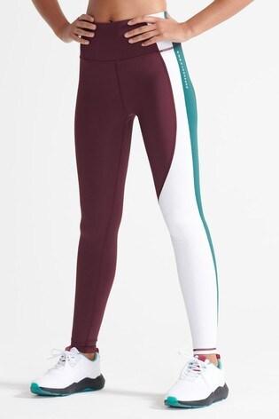 Superdry Sport Training Asymmetric Leggings