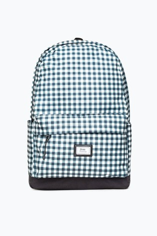 Hype. Gingham Mono Core Backpack