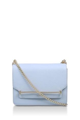 Carvela Blue Lola Cross Body Bag