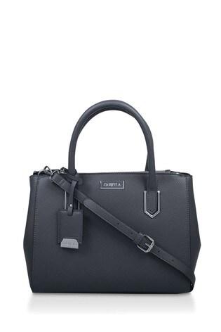 Carvela Grey Iona Double Zip Bag