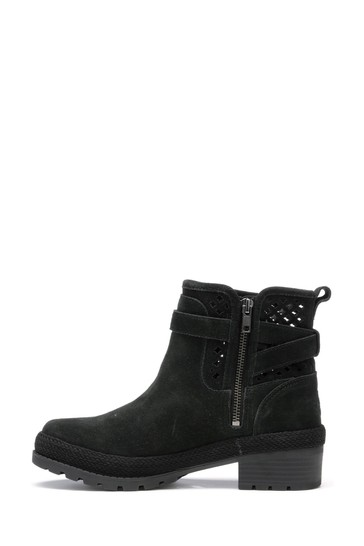 Muck Boots Black Liberty Perforated Leather Boots