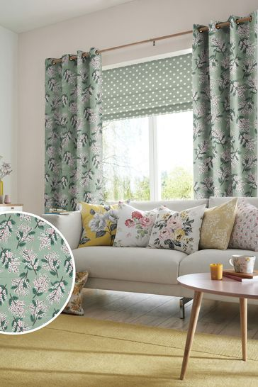 Cath Kidston Mimosa Flower Multi Made To Measure Curtains