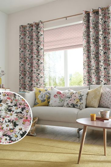 Cath Kidston Painted Daisy Multi Made To Measure Curtains