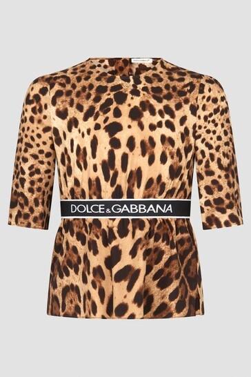 Girls Leopard Print Top