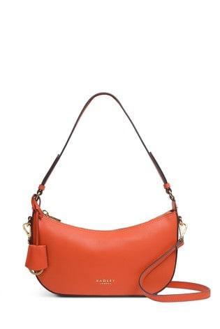 Radley London Summerstown Red Pepper Small Zip Top Multiway Bag