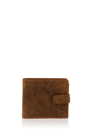 Lakeland Leather Hunter Leather Wallet In Tan