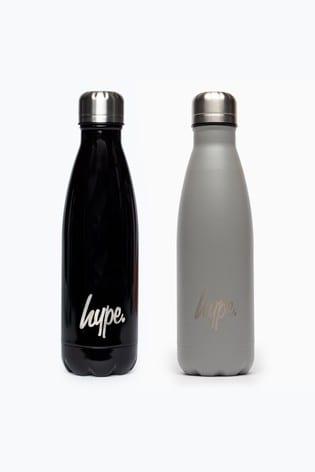 Hype. Black/Grey Powder 2 Pack Bottle Set