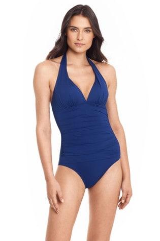 Lauren Ralph Lauren Halter Mio One Piece Swimsuit