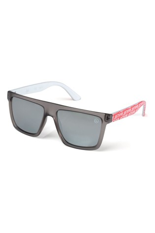 Hype. Grey Just Hype Square Sunglasses
