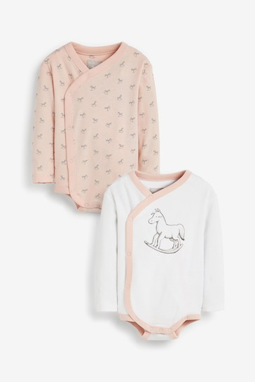 The Little Tailor Pink L3 Bodysuits 2 Pack