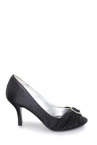 Lunar Sienna Diamanté Court Shoes