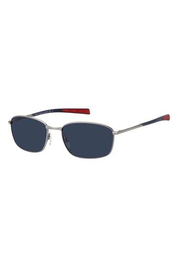 Tommy Hilfiger Silver/Blue Sunglasses