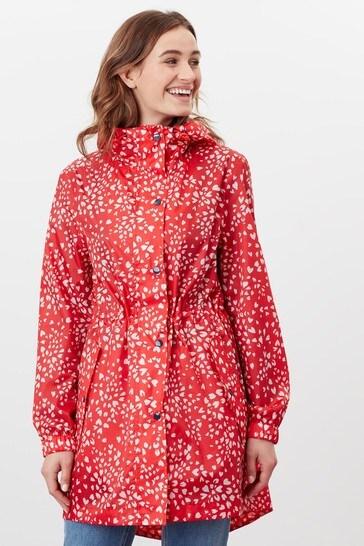 Joules Golightly Printed Waterproof Packaway Jacket