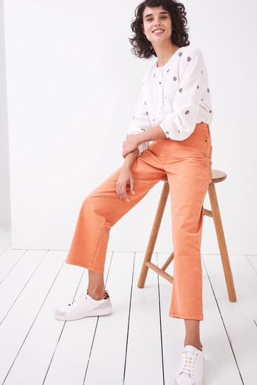 White Stuff Coral Whitstable Organic Trouser
