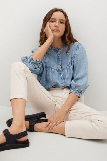 Mango Mom Fit Jeans