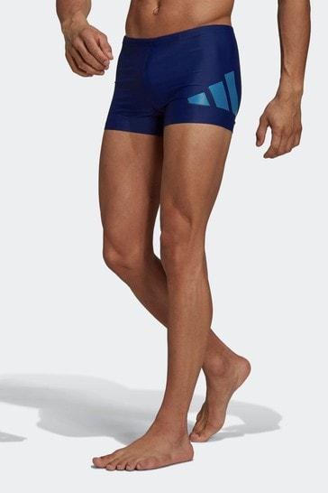 adidas Logo Graphic Swim Briefs
