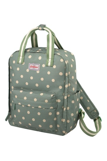 Cath Kidston Green Recycled Utility Backpack