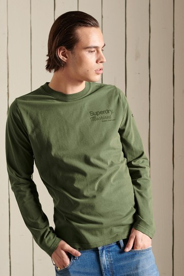 Superdry Core Logo American Classic Long Sleeved Top