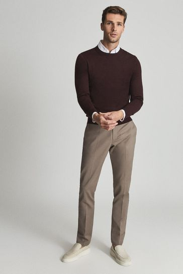 Reiss Wessex Merino Wool Jumper
