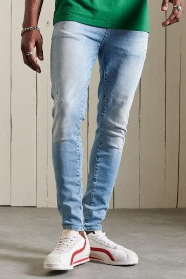 Superdry Men's Blue Skinny Jeans