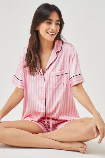 Victoria's Secret Satin Short PJ Set