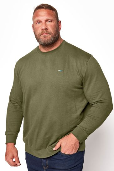 BadRhino Khaki Marl Essential Sweatshirt