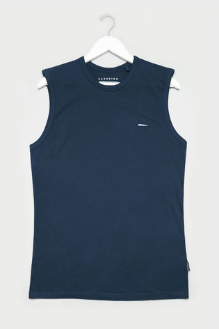 BadRhino Navy Muscle Vest
