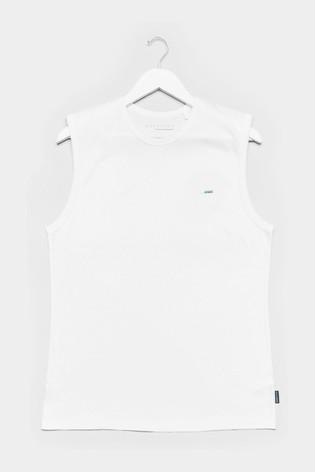 BadRhino White Muscle Vest