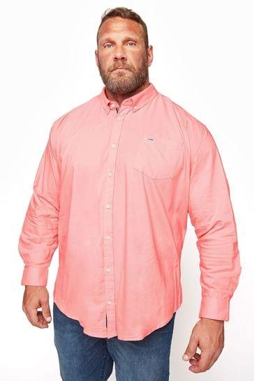 BadRhino Essential Long Sleeve Oxford Shirt