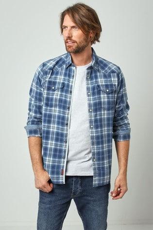 Joe Browns Blue Keeping It Real Shirt