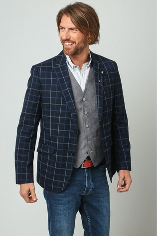 Joe Browns Navy Cool And Charismatic Jacket