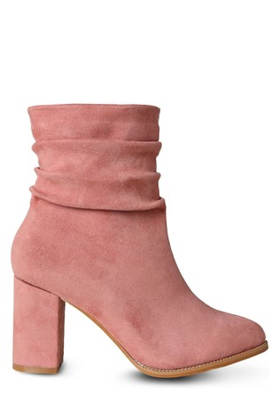 Joe Browns Pink Around Town Ankle Boots