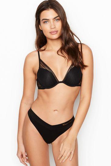 Victoria's Secret Secret Smooth & Lace Thong Panty