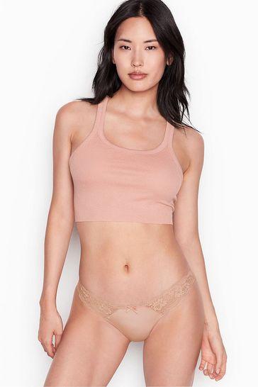 Victoria's Secret Dream Angels Lace Cheekini Panty