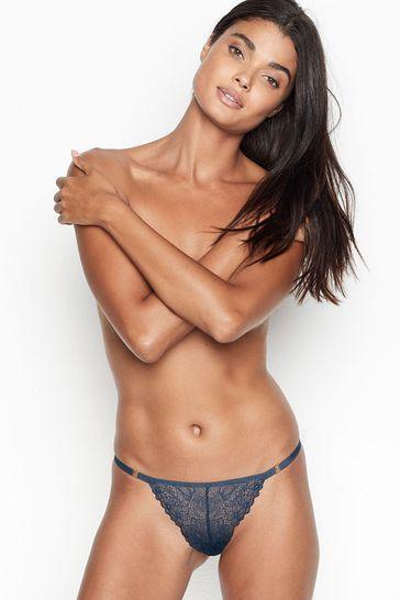 Victoria's Secret Strappy Cutout Thong Panty