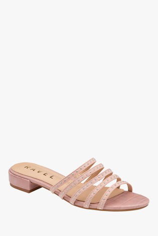 Ravel Pink Mule Sandals