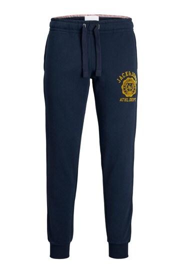 Jack & Jones Navy Blazer Atheltic Logo Joggers