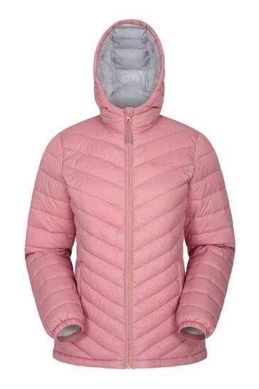 Mountain Warehouse Pink Seasons Womens Padded Jacket
