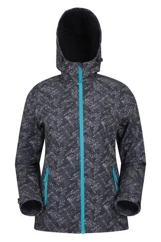 Mountain Warehouse Grey Exodus Womens Softshell Jacket