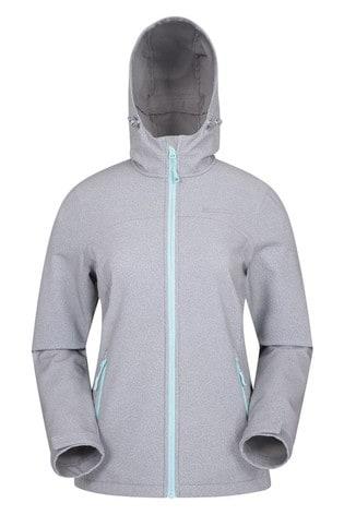 Mountain Warehouse Silver Exodus Womens Softshell Jacket