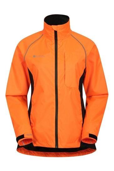 Mountain Warehouse Orange Adrenaline Womens Waterproof Iso-Viz Jacket