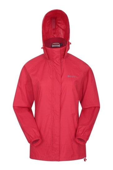 Mountain Warehouse Red Pakka Womens Waterproof Jacket