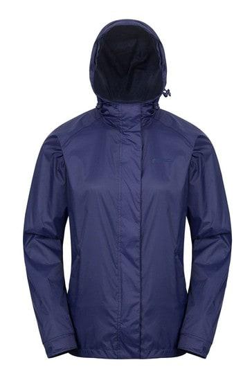 Mountain Warehouse Blue Torrent Womens Waterproof Jacket