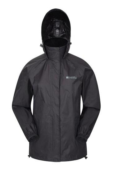 Mountain Warehouse Black Pakka Womens Waterproof Jacket