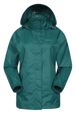 Mountain Warehouse Dark Green Pakka Womens Waterproof Jacket