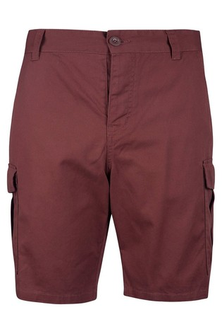 Mountain Warehouse Deep Red Lakeside Mens Cargo Shorts